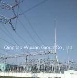 電気のための電源のサブステーションの鉄骨フレーム