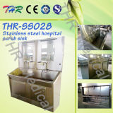 Acero inoxidable Hospital-Use Scrub Sink (THR-SS028)