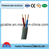 Cable+Earth plano gemelo aislado PVC