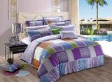 Baumwolle 100% mit der reagierenden gedruckten Bettwäsche eingestellt (YH1492)