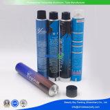 圧搾80ml D28mmの金属のアルミニウム毛カラー染まるクリーム色のパッケージの管を空けなさい