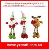 Décoration de Noël (ZY14Y492-1-2-3 25cm) motif de Noël