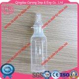 Botella de ordeño del bebé transparente respetuoso del medio ambiente de BPA que introduce PP