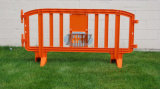 Haltbares Plastic Safety Road Barrier mit 3 Years Quality Guarantee