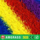 Gazon artificiel synthétique de piste colorée