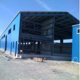 Granero ligero prefabricado del almacén de la estructura de acero para la venta