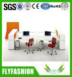 現代はっきりしたオフィス用家具表のスタッフの机のオフィス表デザイン(OD-56)