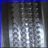 U perfurado padrão Hy Correia dentada em malha de metal laminado para construção de estuque