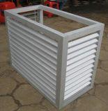 Ventana de persiana de aluminio de alta calidad para aire acondicionado