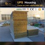 El SGS certificó la pared prefabricada de la casa del emparedado del contenedor