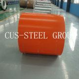 Color RAL PPGI BOBINAS/Prepainted Hoja de hierro galvanizado