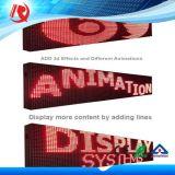 32*16 Pixel Cor Vermelha P10 Módulo de LED para Utilização no Exterior