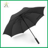 Couvercle du vent double surdimensionné UV Parapluie droites