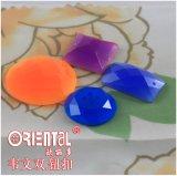 Tasto di cucito di plastica luminoso della caramella (H-1378GD-20#)