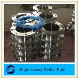 Interface série de l'acier du carbone SA105 ASME B16.47 une bride de Wnrf