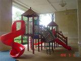 体操装置の子供の屋外の運動場
