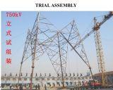 Linha de transmissão fabricante da potência da torre