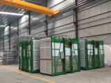 Cabine dupla Construção Construção Elevador para materiais com fácil controle