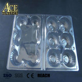 0,4Mm tubo rígido transparente de plástico de PVC transparente os rolos para Bandeja de ovos de formação de vácuo