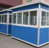Hogares prefabricados temporales de la estructura de acero de la construcción de viviendas