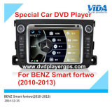 Car Audio DVD Player para Benz Smart Fortwo (2010-2013) com GPS, 3D, Bti