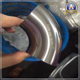 Un gomito laminato a caldo da 45 gradi degli accessori per tubi dell'acciaio inossidabile