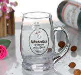 Utilice la barra de alta calidad de cristal transparente de la taza de cerveza