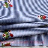Garn gefärbtes Gewebe für Kind-Kleid-Hemd-Fußleiste sticken