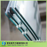 4mm Drilling Holesの5mm Curved Toughened Glass Panel