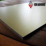熱い販売法のIdeabondによってブラシをかけられるアルミニウム合成のパネル(モザイク)