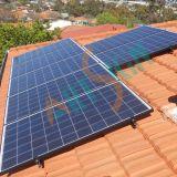 태양 에너지 기와 지붕 설치 시스템