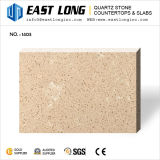 Quartz Super artificiel Beige dalles de pierre avec des échantillons gratuits