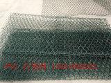 Caixa de gabião revestido de PVC/Gabião cestas com cor cinza/Cor Verde Escuro