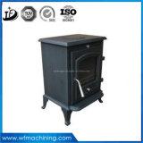 Fer travaillé d'OEM/Customized moulant la mini cheminée électrique de type européen utilisée en hiver
