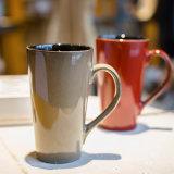 Glanzende Lange Ceramische Mok
