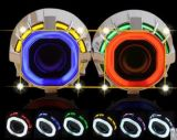 Best Selling HID Car Light 3,0 polegadas Double Angel Eyes HID Bi-Xenon Projector Lens