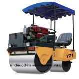 Оборудование уплотнения дороги Compactor Yz1 ролика 1 тонны