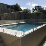 Outdoor inférieur prend en charge de l'architecture de la piscine en verre trempé clair l'Escrime