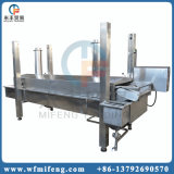 Fryer новой конструкции автоматический непрерывный жаря машину с системой фильтра для масла