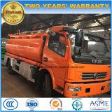 Dongfeng LHD Rhd 8kl 기름 트럭 120HP 최신 판매 연료 유조 트럭 가격