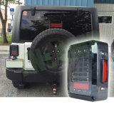 lumière arrière de spire de la fiche DEL de 12V 24V Etats-Unis de frein courant renversé de signal pour la jeep