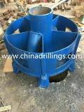 Cones à rouleaux simples / Cutter pour barillet de base utilisé pour le pilonnage