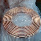 Tube de cuivre à serpent à panneaux à double couche pour climatiseur