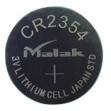 El botón de la batería CR2354