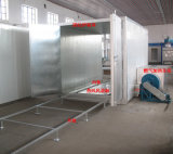 Gas energy-saving Heating Oven para Powder Coating