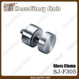Morsetto di vetro dell'acciaio inossidabile per l'accessorio per tubi piano (SJ-F305)