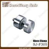 Acero inoxidable abrazaderas para tubo de vidrio plano de montaje (SJ-F305)