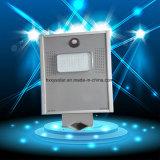 6W ha integrato tutti in un indicatore luminoso di via solare del LED