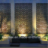 Pannello di rivestimento di alluminio materiale della parete perforata della decorazione