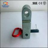 자물쇠 Soild 정강이 수갑을%s 가진 위조된 D-환형물 수신기 까탈